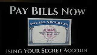 I PAID MY BILLS USING MY SOCIAL SECURITY NUMBER