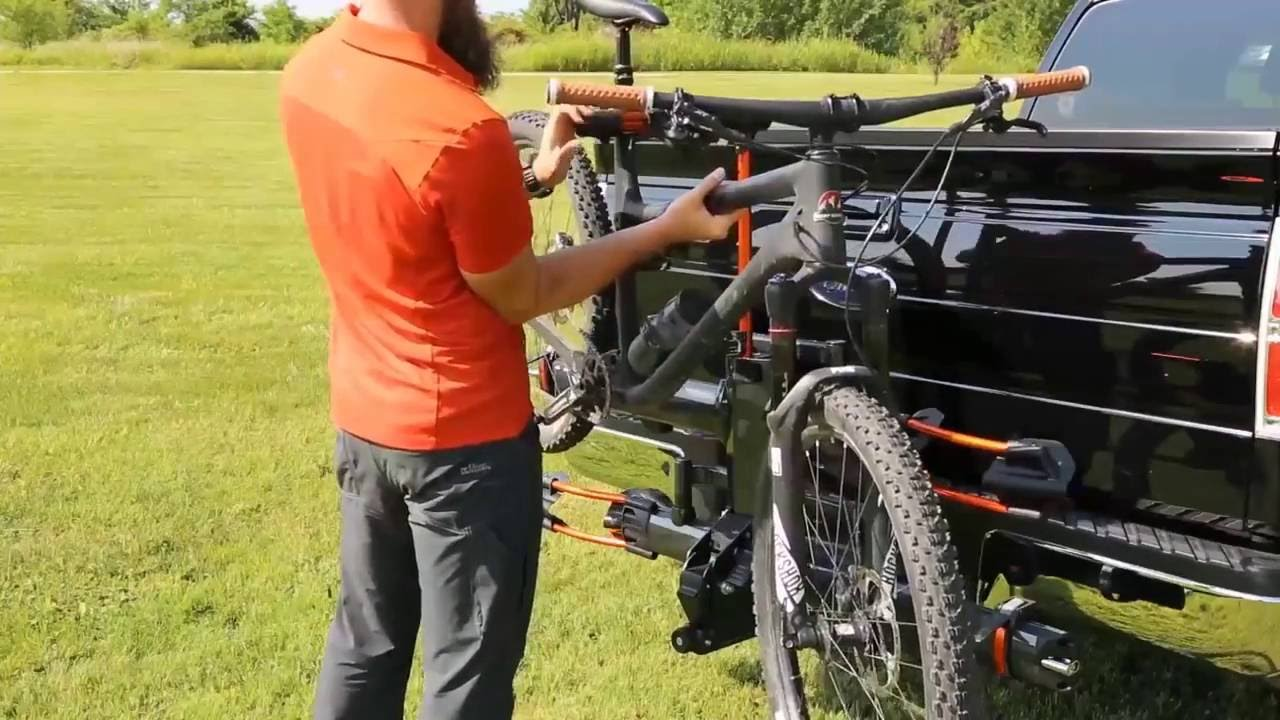 Yakima Holdup 2 >> Kuat NV 2.0 Hitch Bike Rack - Product Features - YouTube