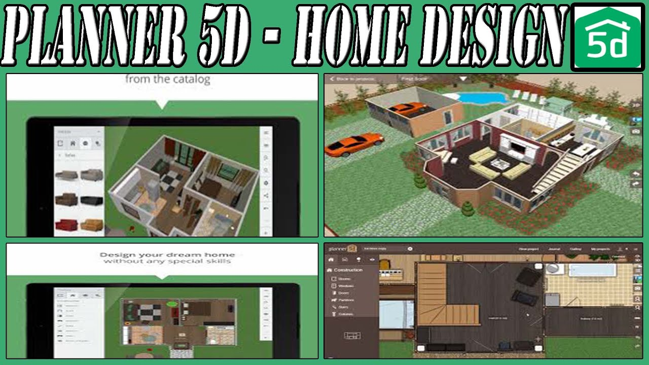 Planner 5d home design android application youtube for Home design app