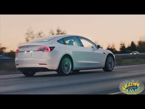 Tesla Model 3 2018  Review    Watch Till End    Amazing VIdeos