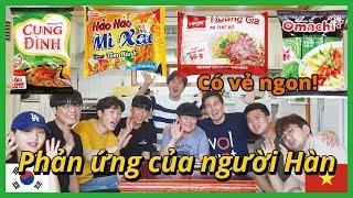 [Korean Reaction] Have you tried Vietnamese ramen before?