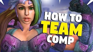 SMITE How to: Team Comp! Synergy, Countering And Drafting Around A God!