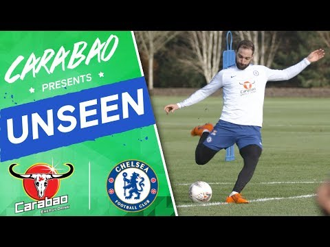 #Higuain & #Hudson-Odoi On 🔥 In Shooting Drill | Chelsea Uns