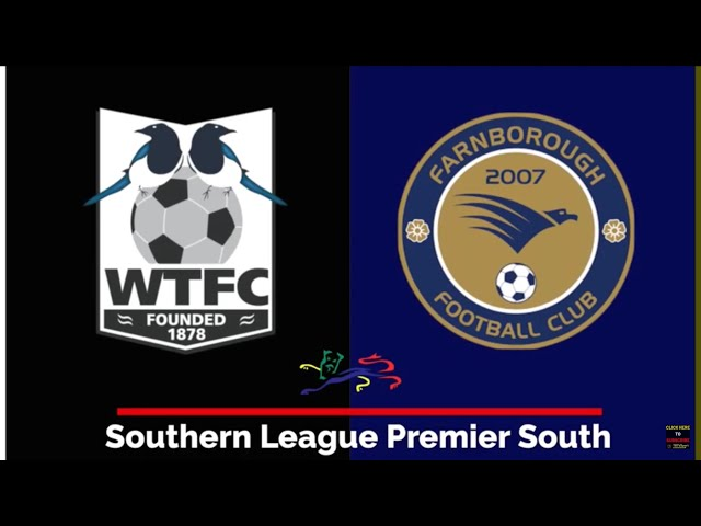 Wimborne Town v Farnborough - Southern League Premier South