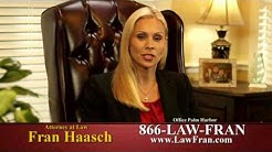 Attorney Fran Haasch - Motorcycle and Automobile Accident Injury Attorney - Palm Harbor, Florida