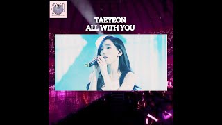Gambar cover Taeyeon-All With You