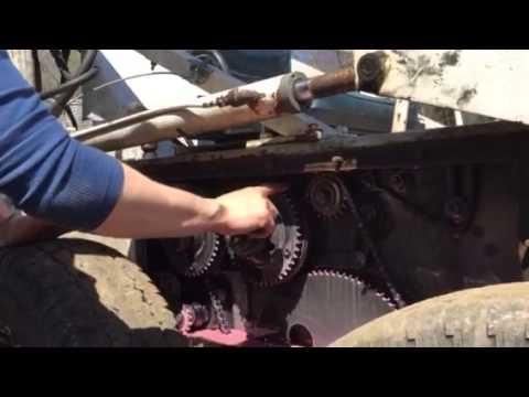 Melroe bobcat chain case