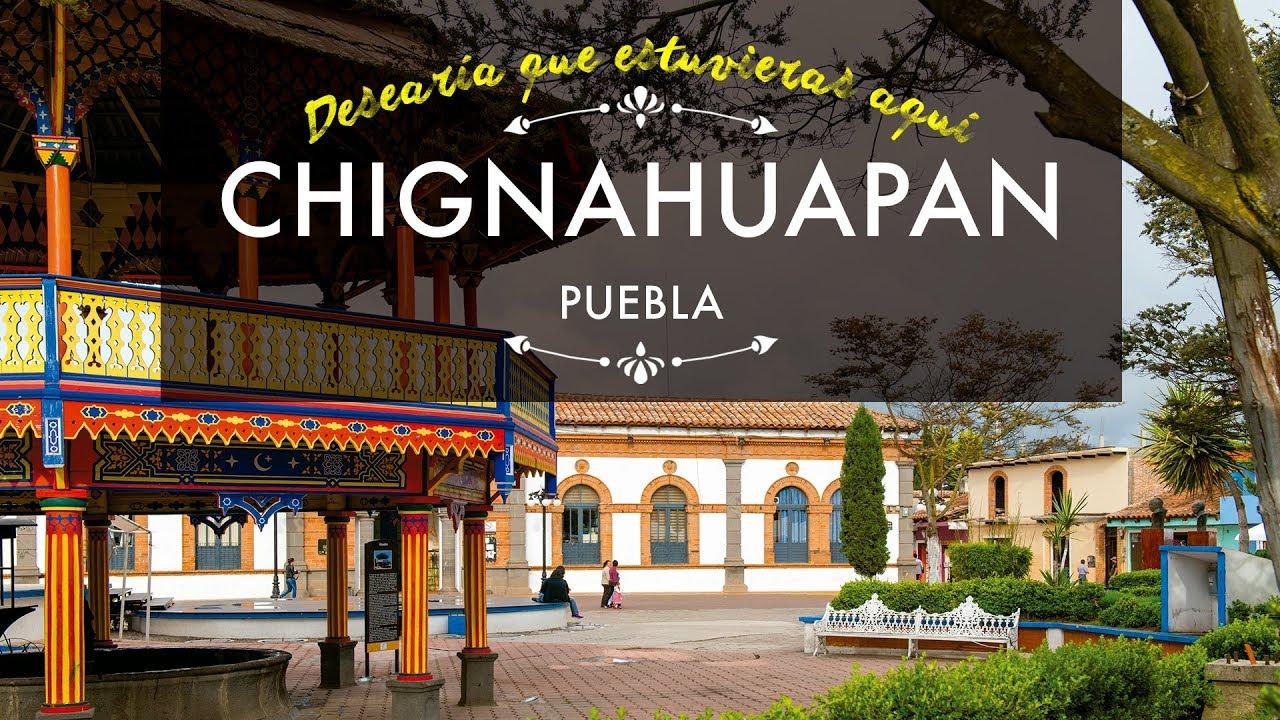 Pueblo Mágico De Chignahuapan Puebla