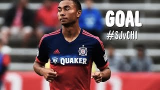 GOAL: Grant Ward pulls one back for the Fire | San Jose Earthquakes vs Chicago Fire
