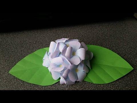 How To Make A Hydrangea Flower Bunch