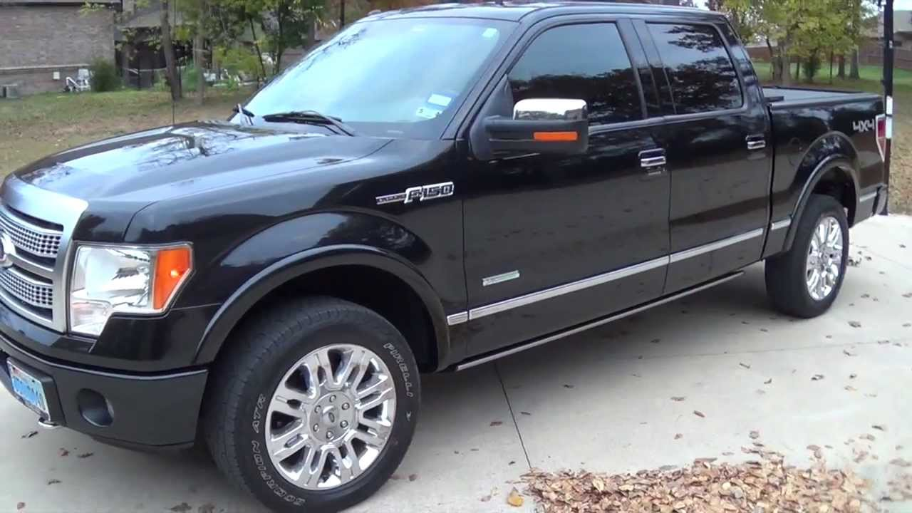 2011 ford f 150 4x4 platinum ecoboost 36k mile update doovi. Black Bedroom Furniture Sets. Home Design Ideas