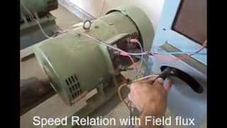 D C Motor Speed relation with field flux edited