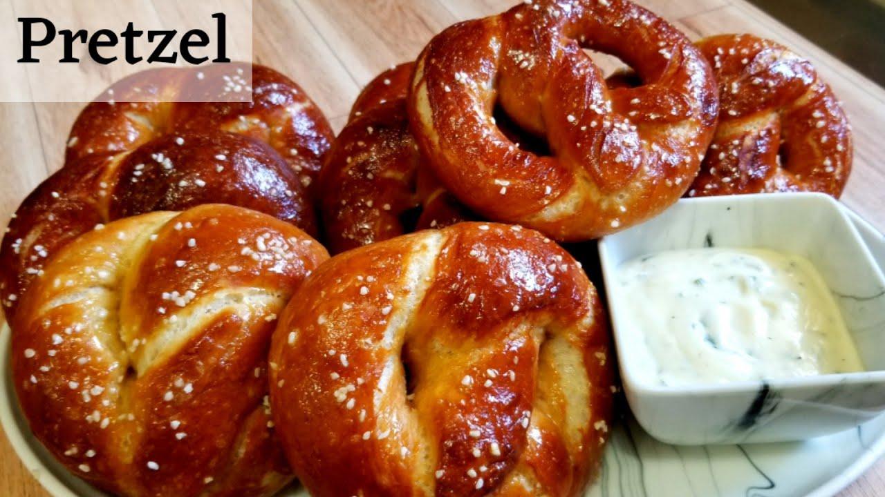 Best Homemade Soft Pretzels | How to Make Pretzels at Home | Easy Pretzels Recipe