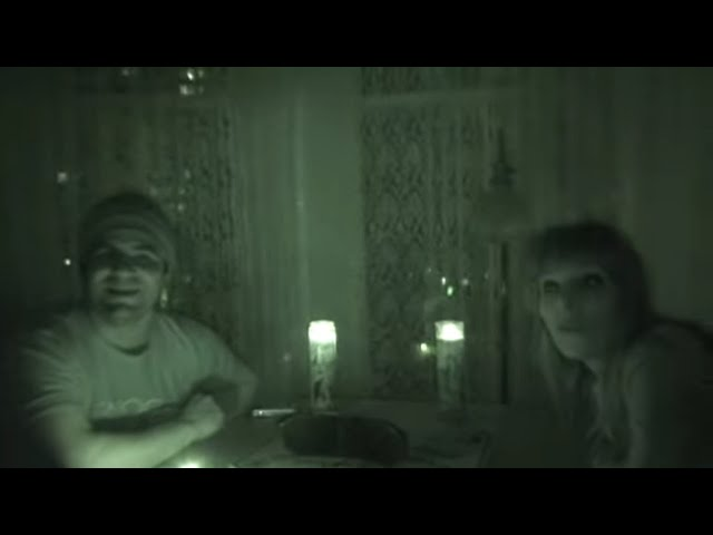 Devil Caught on Tape During Spirit Communication at Haunted Hotel - Paranormal Caught on Camera