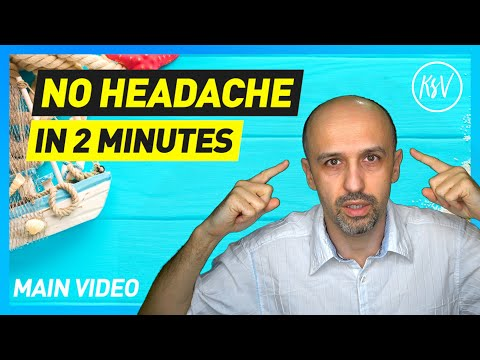 How to Get Rid of Your Headache in 2 Minutes (2017) - Main Video