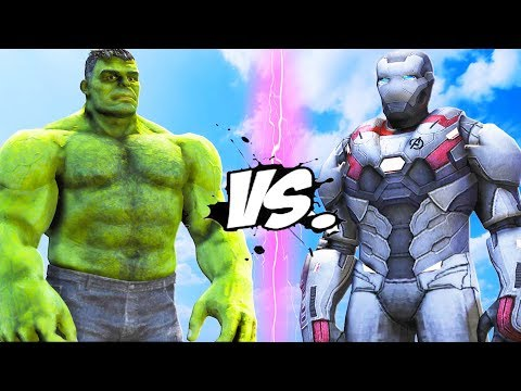 THE HULK VS WAR MACHINE - ENDGAME BATTLE