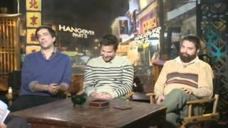 Мальчишник 2 Из Вегаса в Бангкок Видеоинтервью с актерами