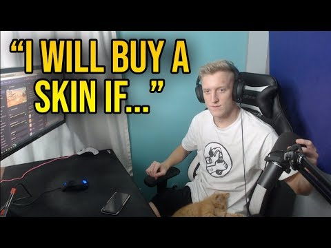Tfue Says He Will BUY A SKIN Under This one Condition...