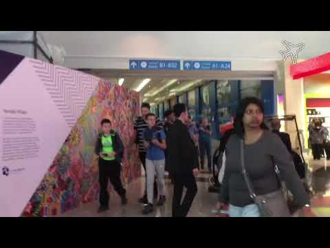 Dubai Airport Terminal 3 Tour June 2017