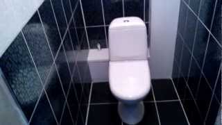 плитка в туалете(один из вариантов туалета ... для тех кто выбирает стиль и цвет ...., 2013-03-07T18:38:02.000Z)