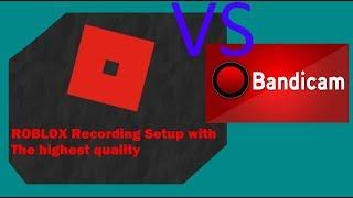 ROBLOX Recording VS Bandicam