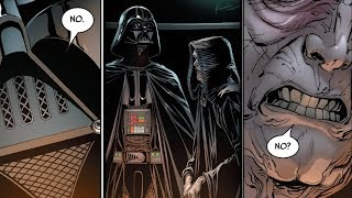 How Palpatine Reacted to Vader Refusing a Direct Order [Canon] - Star Wars Explained
