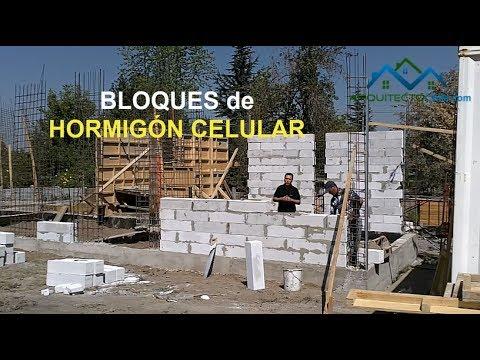 Construccion de casas en hormigon celular youtube for Construccion casas hormigon