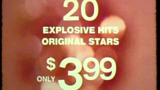 "K-tel Records ""20 Explosive Hits"" commercial - 1973"
