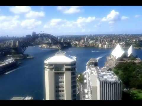Sydney Intercontinental Hotel Club Lounge 31st floor