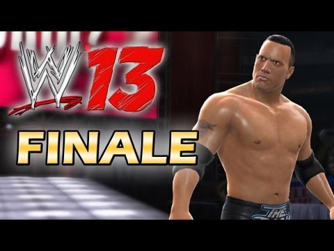 WWE 13 - Attitude Era Mode Walkthrough - The Great One - Finale (Gameplay Xbox 360/Ps3)
