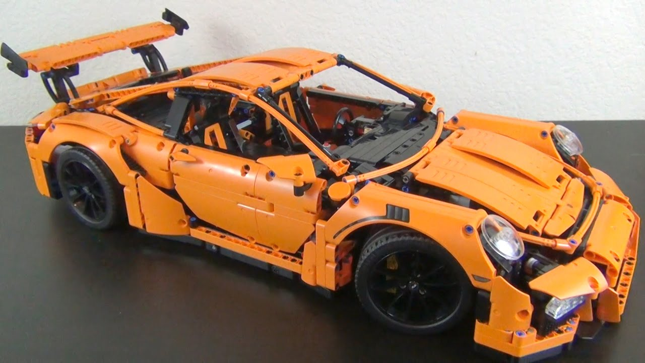 let 39 s build lego technic porsche 911 gt3 rs set 42056. Black Bedroom Furniture Sets. Home Design Ideas