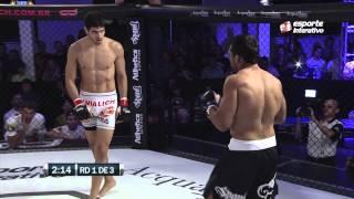 Lutador incorpora o Rocky Balboa e vence no BRFC 4