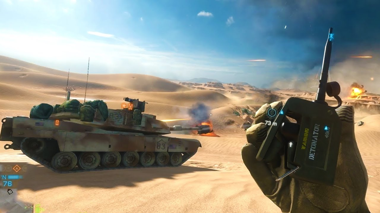 Battlefield 4 - Best Dirtbike C4 Killstreak EVER!