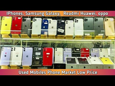 Mobile Market in Russia || Used Iphones in cheap price