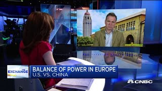 Watch this expert break down the balance of power in Europe