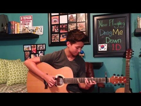Drag Me Down - One Direction - Fingerstyle Guitar