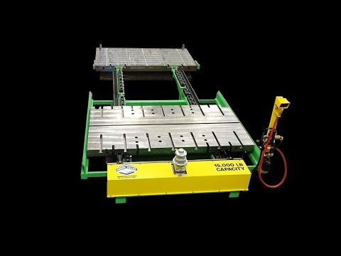 Titan 173796 15,000 lb Pneumatic Powered Die Change Table