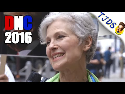 Jill Stein Interview At 2016 Democratic National Convention
