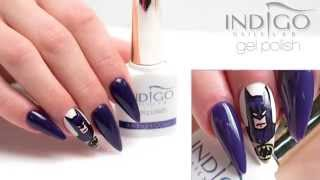 Indigo Gel Polish Midnight Ocean + Caffe Latte