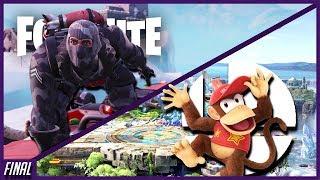 Fortnite x Smash Ultimate Livestream 2!   Nintendo Switch