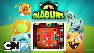 Globlins Playthrough | Mobile App | Cartoon Network