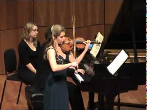 Ravel - Violin Sonata No 2 - Blues (2 of 3)