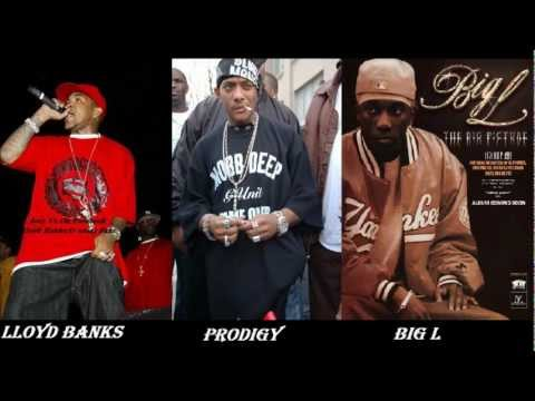 Lloyd Banks Ft. Big L & Prodigy - Large On The Streets ( Remix 2013 ) ( Lyrics )