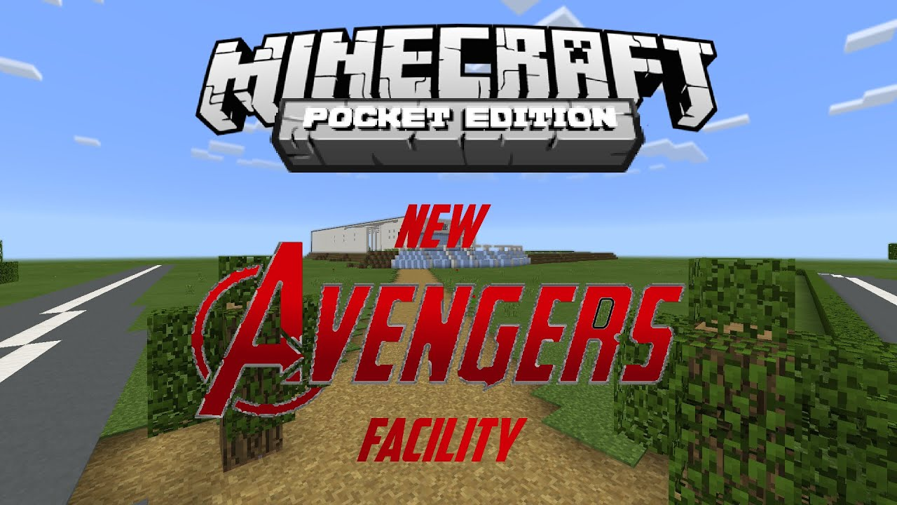 mcpe new avengers facility teaser trailer