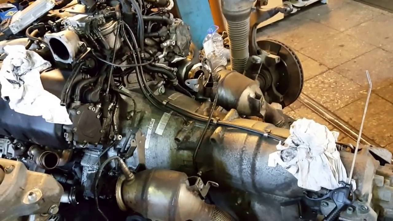 Vw Phaeton 5 0 V10 Tdi Engine