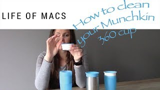 How to Clean Your Munchkin 360 Cup