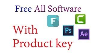 Free All Software With Product Key कोय भी सॉफ्टवेर फ्री में डाउनलोड करे प्रोडक्ट key के साथ  [Hindi]