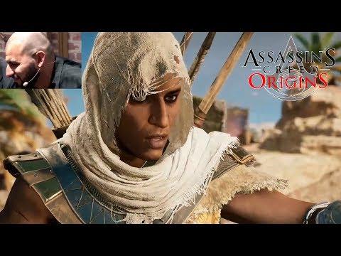 ASSASSINS CREED ORIGINS - NEW Gameplay 28 Min - Free Roam Gameplay (E3 2017)