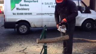 Hungerford Garden Machinery Demo Smart Holder Saw Horse