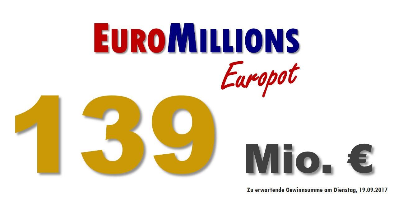 Euromillions Zahlen Dienstag